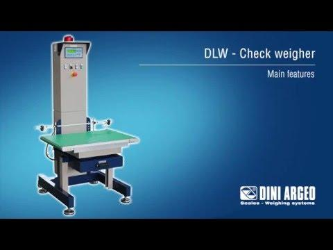 Cân công nghiệp Dini Argeo - DLW Check Weigher - Main Features