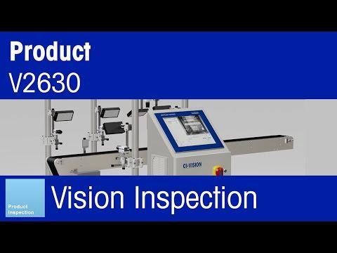 METTLER TOLEDO CI-Vision – V2630 Flex Vision Inspection System