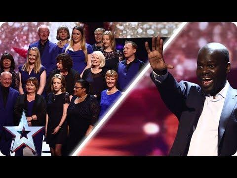 Daliso & Missing People Choir Make The Final | Semi-Final 5: Results | Britain's Got Talent 2017