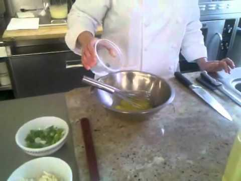 Cách sử dụng cân - Cheese Omelette