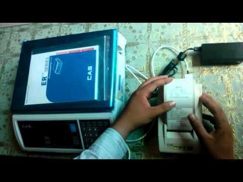 Cân điện Tử Tính Giá ER - Plus Hoa Sen Vàng