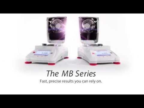 Cân kỹ thuật Ohaus - MB120 MB90 Video