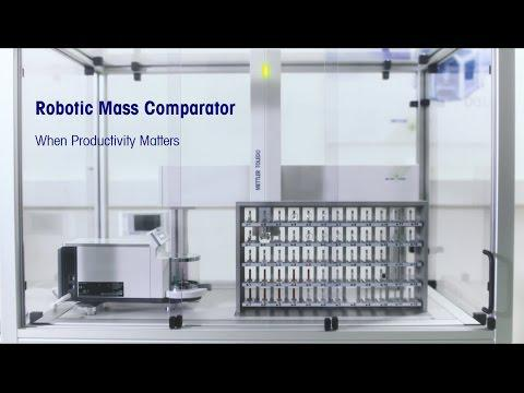 Automate Your Weight Calibration With METTLER TOLEDO Robotic Mass Comparators