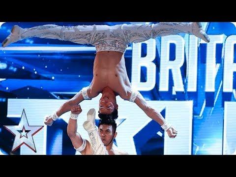 OMG! Watch The Giang Brothers' UNBELIEVABLE Show Of Strength! | Auditions | BGT 2018