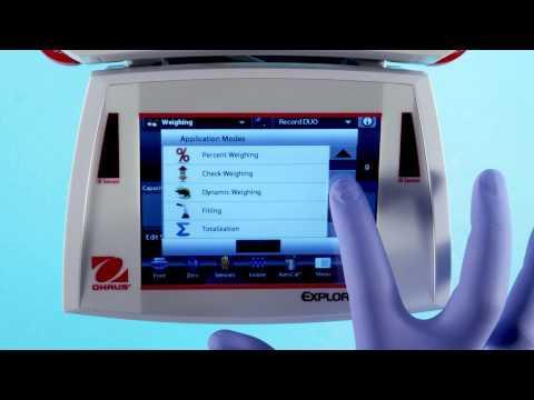 Cân kỹ thuật Ohaus - Explorer® Semi Micro Balance