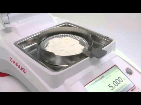 Cân điện tử Ohaus - OHAUS MOISTURE ANALYZER MB90 MB120