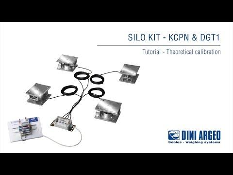 Cân công nghiệp Dini Argeo - KCPN Tutorial - Theoretical Calibration Of A Silo Kit