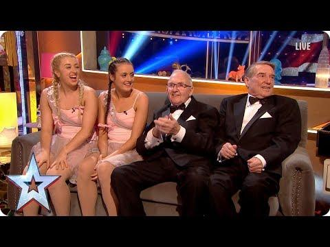 Stephen Chats To MerseyGirls & The Pensionalities | Semi-Final 4 | Britain's Got More Talent 2017