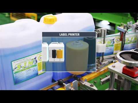 Giới thiệu cân đóng can Plastic Filling System (KR)