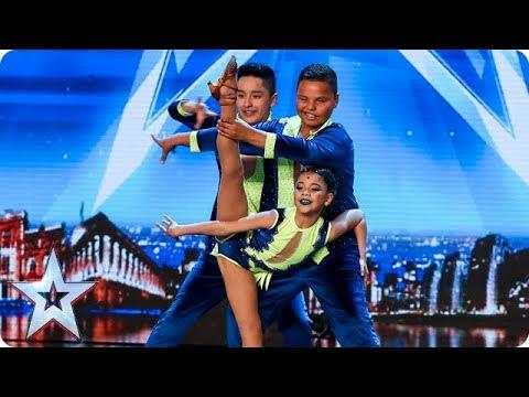Cali Swing Perform A SENSATIONAL Salsa! | Auditions | BGT 2018