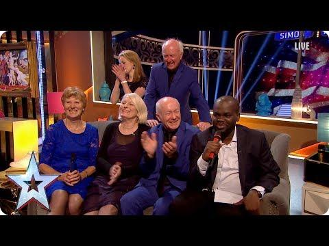 Finalists Daliso & Missing People Choir Join Stephen   Semi-Final 5   Britain's Got More Talent 2017