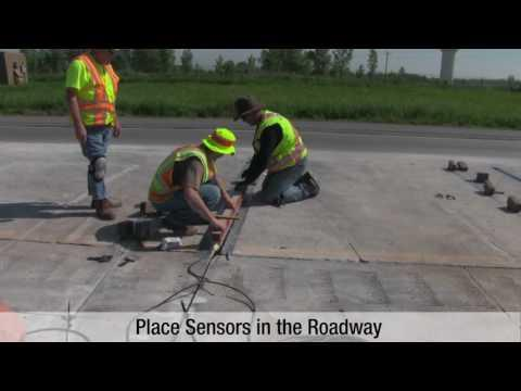 Overview: Installation Of Intercomp Weigh-In-Motion Strip Sensors