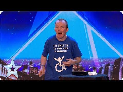 FIRST LOOK: Lost Voice Guy's HILARIOUS Audition  | BGT 2018