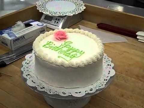 Cách sử dụng cân - 8 Inch Birthday Cake Part 3