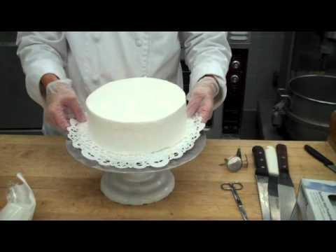 Cách sử dụng cân - 8 Inch Birthday Cake - Part 2