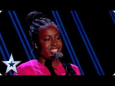Will Wild Card Sarah Ikumu Rise To The Challenge? | Grand Final | Britain's Got Talent 2017