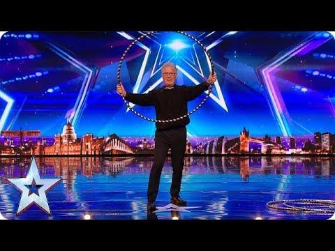 'Hoop Guy' Puts On An Incredible Show | Unforgettable Auditions On Britain's Got Talent