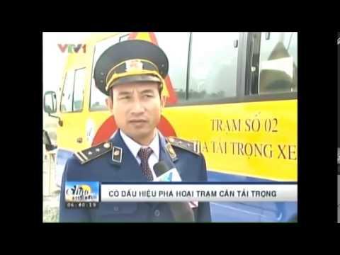 Tài Xế Cố Tình Phá Hỏng Trạm Cân Xe - Hoa Sen Vàng