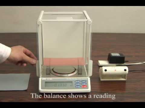 AD-1683 Static Eliminator For Analytical Balances