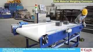 Bulk Material Weighing Conveyor