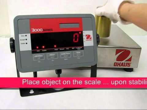 Cân điện tử Ohaus - T32M Indicator - Hold Operation