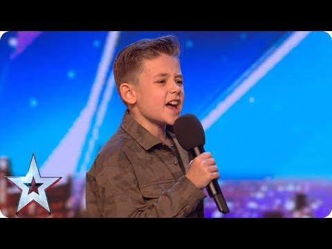 Calum Courtney Takes On ICONIC Michael Jackson Song | Auditions Week 1 | Britain's Got Talent 2018