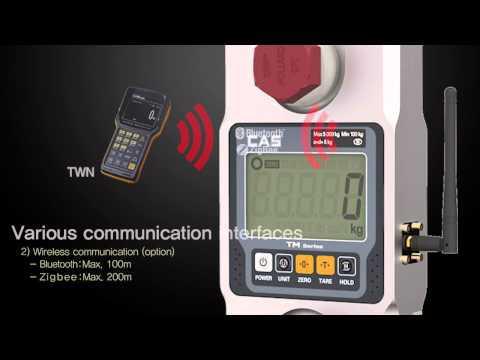 Cân treo điện tử CAS- TM Series (EN)