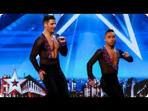 Dreamy Duo David And Javier Double-up For SIZZLING Salsa Routine! | Auditions | BGT 2018