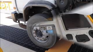 Cân xe tải xách tay CAS - RWT 920F AXLE SCALE