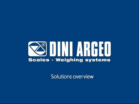 Cân điện tử Dini Argeo - Solutions Overview
