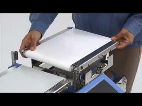 How To Change A Conveyor Belt On The A&D EZI-Check Checkweigher