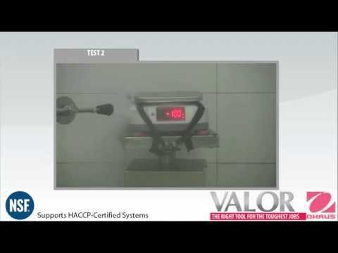 Cân điện tử Ohaus - Valor® Water Resistant