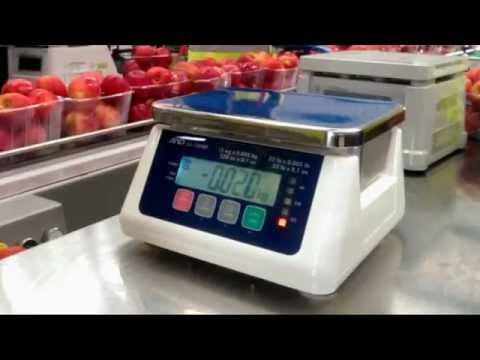 Weighing Apples At The Speed Of Lights