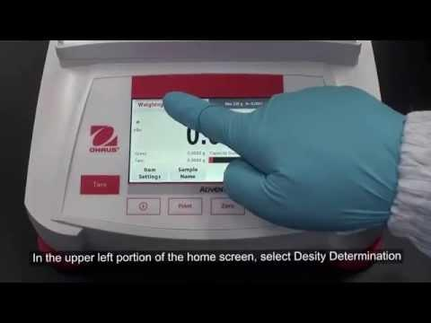 Cân điện tử Ohaus - Adventurer® Density Determination