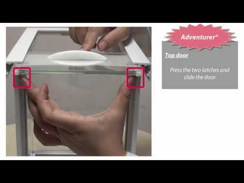 Cân điện tử Ohaus - Adventurer® Door Installation